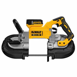 DeWALT DCS374P2 - 20V MAX XR Deep Cut Bandsaw (5.0Ah) w/ 2 Batteries and Kit Box