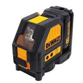 DeWALT DW088LR - 12V Compatible Cross Line Laser - Red Beam