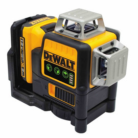 DeWALT DW089LG - 12V Self-Leveling 3x360 Laser - Green Beam