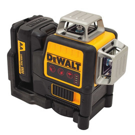 DeWALT DW089LR - 12V Compatible Self-Leveling 3x360 Laser - Red Beam