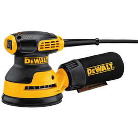 "DeWALT DWE6421 - 5"" ROS with Hook & Loop Pad and Dust Collection"
