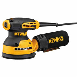 "DeWalt -  5"" VS ROS with Hook & Loop Pad and Dust Collection w/ bag  - DWE6423K"
