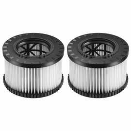 DeWALT DWV9330 - HEPA Filters for DWV010 & DWV012 (type 2) - 2 Pack