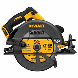 "DeWalt -  FLEXVOLT™ 60V MAX* 7-1/4"" (184MM) CIRCULAR SAW W/BRAKE BARE - DCS575B"