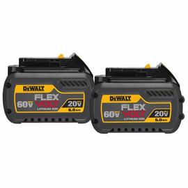 DeWALT DCB606-2 - FLEXVOLT™ 20/60V MAX BATTERY PACK 6.0AH DUAL PACK