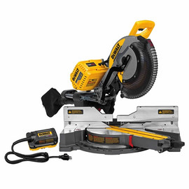 DeWALT DHS790AB - 12' (305MM) 120V MAX* DOUBLE BEVEL SLIDING COMPOUND MITER SAW WITH CUTLINE(TM) BLADE POSITIONING SYSTEM (INCLUDES 120V ADAPTER)