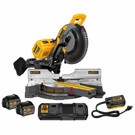 "DeWalt -  12""(305MM) 120V MAX* DOUBLE BEVEL SLIDING COMPOUND MITER SAW KIT - DHS790AT2"