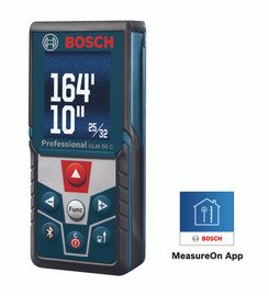 Bosch GLM50C - 165 Ft. Laser Measure