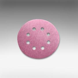 "Sia Abrasives - 5"", 8 hole Velcro Sanding Disc 40 Grit Box/100Pcs"