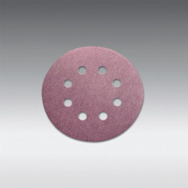 "Sia Abrasives - 5"", 8 hole Velcro Sanding Disc 150 Grit Box/100Pcs"