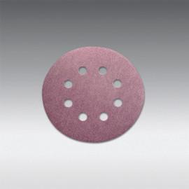 "Sia Abrasives - 5"", 8 hole Velcro Sanding Disc 220 Grit Box/100Pcs"