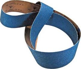"Sia Abrasives - 1-1/8""W x 21""L Zirconia Sanding Belt 80 Grit"