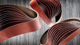 "Sia Abrasives - 2-1/2""W x 14""L Sanding Belt 80 Grit"