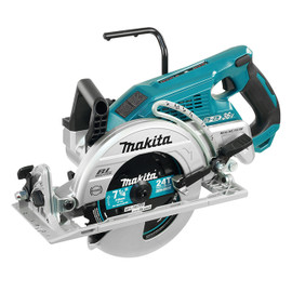 "Makita DRS780Z - 7-1/4"" Cordless Rear Handle Circular Saw with Brushless Motor"