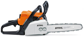 Stihl MS170 - Compact gas chain saw for property maintenance