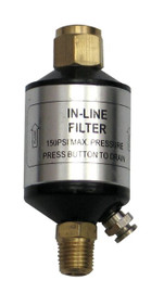 Samona/ROK - Heavy Duty, Inline Filter - 14025
