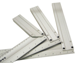 "Samona/ROK -  12"" Aluminum Try Square - 28370"