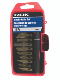 Samona/ROK -  Hobby Knife Set 15 Pc - 37165