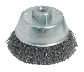 "Samona/ROK -  Wire Cup Brush 3"" Crimped - 45100"
