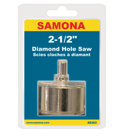 "Samona/ROK 48363 - Diamond Hole Saw 2-1/2"""
