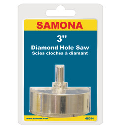 "Samona/ROK 48364 - Diamond Hole Saw 3"""