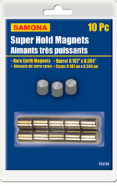 Samona/ROK -  Super Hold Magnets 10 Pc Barrel - 70239