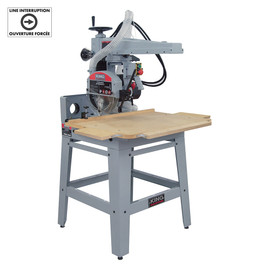 "KING KC-12RAS - 12"" Radial arm saw"