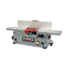 "King Canada KC-6HJC - 6"" Benchtop jointer with helical cutterhead"