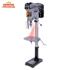 "KING KC-119FC-LS - 17"" Long stroke drill press with safety guard"