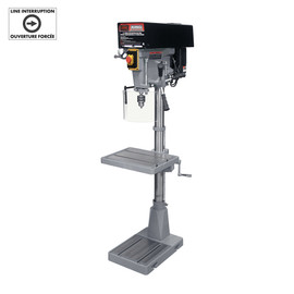 "KING KC-30HS-VS - 15"" Variable speed industrial drill press"