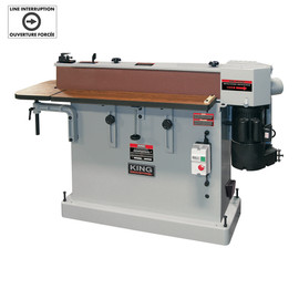 "KING KC-108-OSC - 6"" x 108"" Oscillating edge sander"