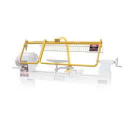 KING KWL-160G - Safety guard for wood lathe