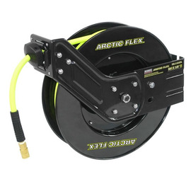 "King Canada K-5038FRL - 50 ft x 3/8"" Retractable air hose reel with hybrid polymer air hose"