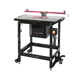 KING XL-200C - Router table kit- cast iron table(includes XL-125, XL-075, XL-130, XL-080, XL-085)
