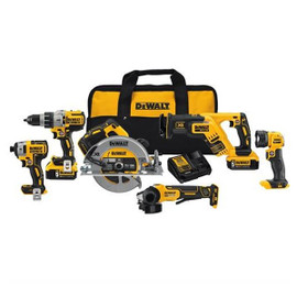 DeWALT DCK695P2 - 20V BRUSHLESS 6 TOOL COMBO KIT