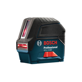 Bosch GCL2-160+LR6 - Self-Leveling Cross-Line Laser with Plumb Points and L-Boxx® Carrying Case