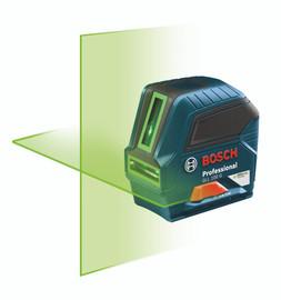 Bosch GLL100G - Green-Beam Self-Leveling Cross-Line Laser