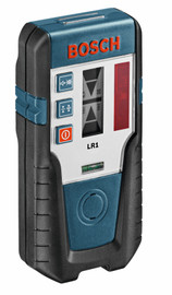 Bosch LR1 - Red Beam Rotary Laser Receiver