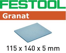 Festool Abrasive sponge 115x140x5 EF 500 GR/20 Granat