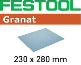 Festool Abrasive paper 230x280 P180 GR/10 Granat