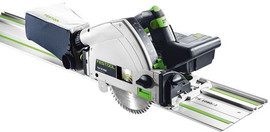 Festool Cordless Track Saw TSC 55 REB-Set/XL-FS