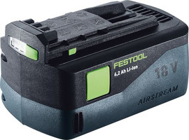 Festool Battery pack BP 18 Li 6,2 Ah Li-Ion AS