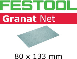 Festool Abrasive net STF 80x133 P80 GR NET/50 Granat Net