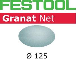 Festool Abrasive net STF D125 P220 GR NET/50 Granat Net