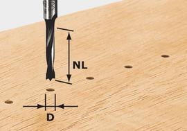 Festool Dowel Drill Bit HW S8 D8/30 Z