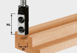 Festool Straight bit HW HW S8 D8/20 WP Z1