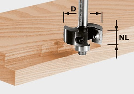 Festool Rebating cutter HW HW S8 D38/12