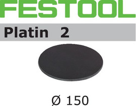 Festool Grit Abrasives STF D150/0 S500 PL2/15 Platin 2