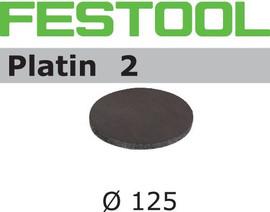 Festool Grit Abrasives STF D125/0 S500 PL2/15 Platin 2