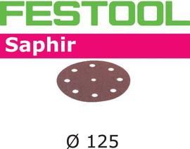 Festool Grit Abrasives STF D125/8 P80 SA/25 Saphir
